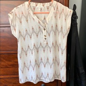 Maurice's, Small, Tribal print blouse